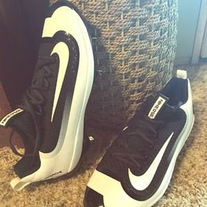 Nike Hurache pro air baseball cleats